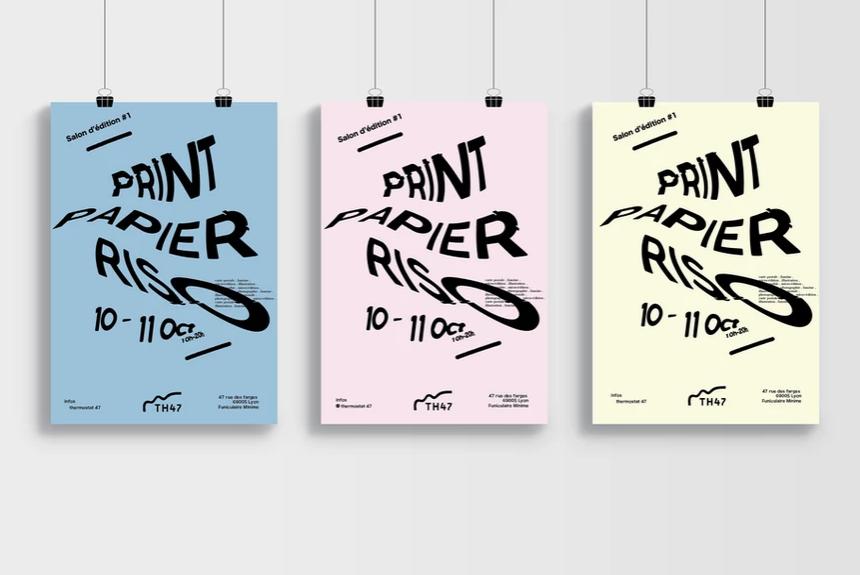 graphiste lyon - salon edition Print Papier Riso