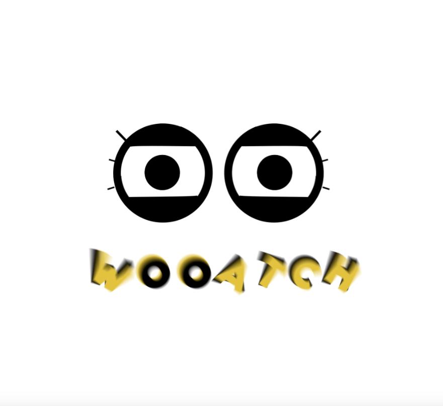 motion design lyon logo Wooatch
