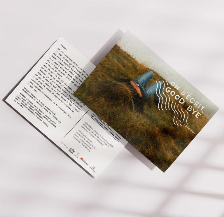 Graphisme - Flyer exposition OSGB