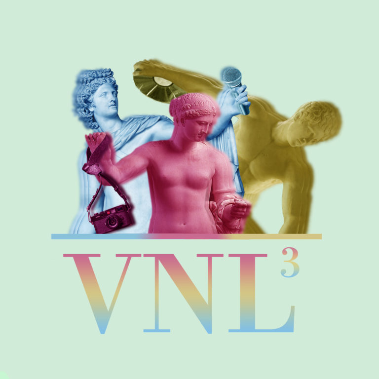 Design graphique web radio radio VNL